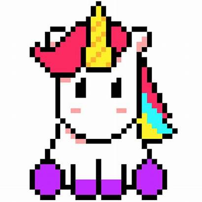 Unicorn Pixel Number 3d Voxel Games Coloring
