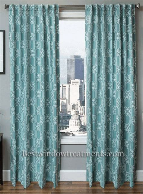 booker embroidered chain stitch curtain drapery panel