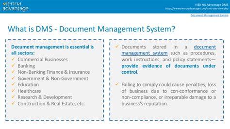 characteristics  ideal document management system dms