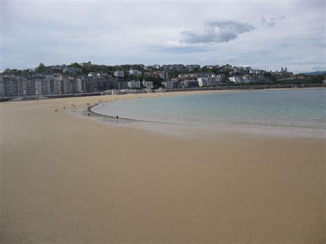 el tiempo en playa de la concha donostiasan sebastian