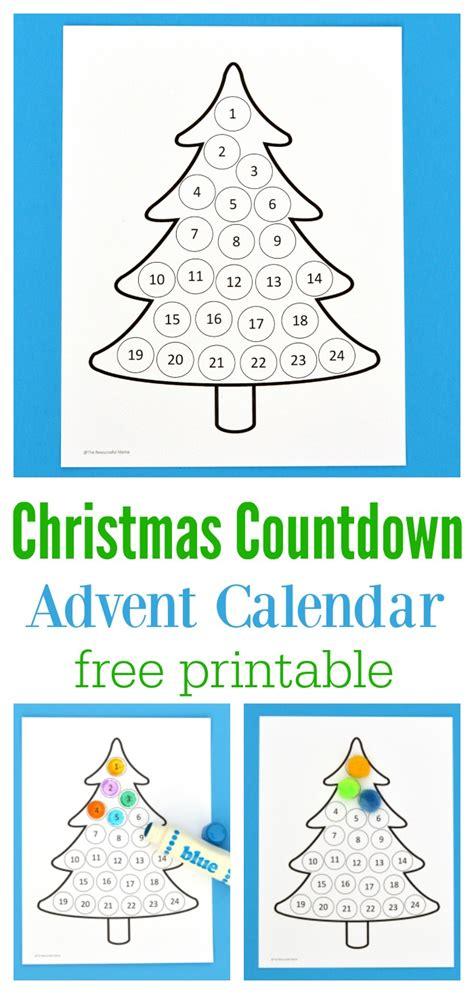 christmas countdown advent calendar the resourceful mama