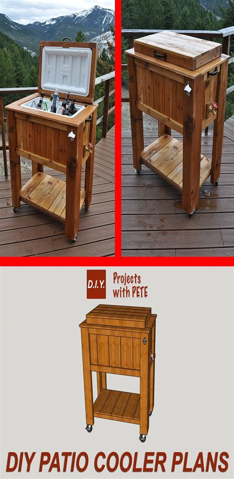17 best ideas about chest cooler on wooden