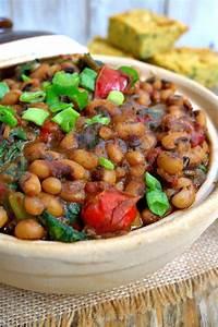 Smoky Vegetarian Black-Eyed Peas and Greens   Cilantro and ...