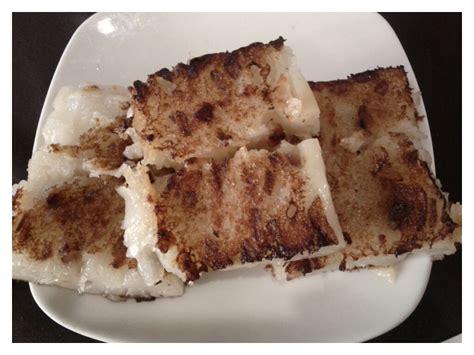 learning   lo bak goh chinese turnip cake