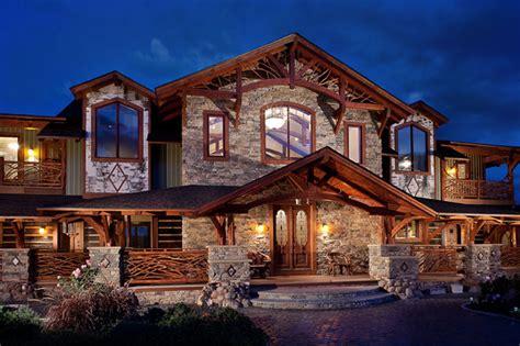 timber frame home plans  kokannee plan