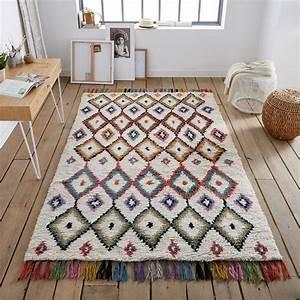 17 meilleures idees a propos de tapis colores sur With tapis de couloir avec canapé 2 places vintage