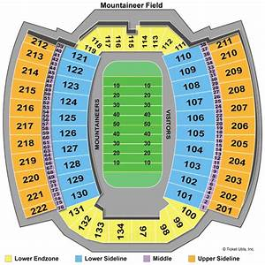 Giants Field Seating Chart West Virginia Mountaineers Season Tickets