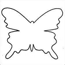 flying butterfly pattern   printable outline