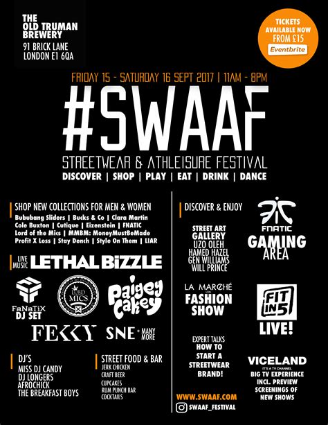 The First Ever Uk Celebration Of Streetwear Culture Hits
