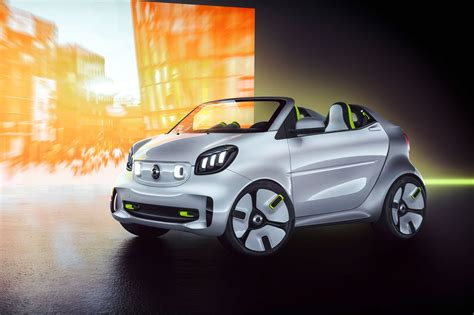 state of the smart forease cabrio concept gives a