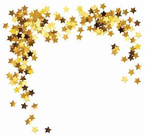 Gold stars decoration clipart picture - Clipartix