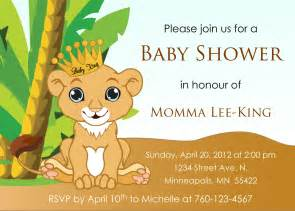 African American Baby Shower Favors by Baby Lion King Baby Shower Invitation By Designsbyoccasion On Etsy