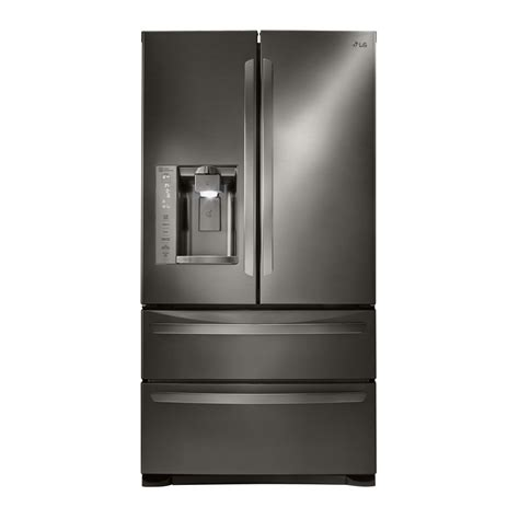 Shop Lg 267cu Ft 4door French Door Refrigerator With