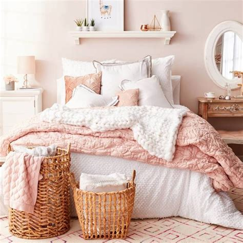 Blush Pink Bedroom Ideas - Dusty Pink Bedrooms I Love
