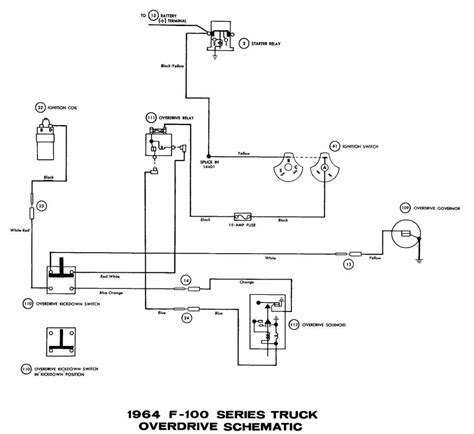 Ford Truck Overdrive Wiring Diagram All About