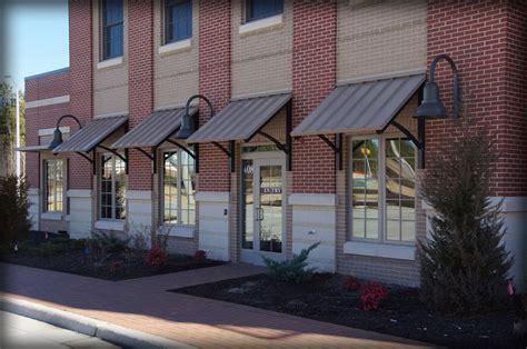 Standing Seam Awnings & Corrugated Aluminum Canopies