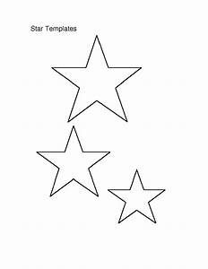 6 best images of small star stencils free printable With small star template printable free