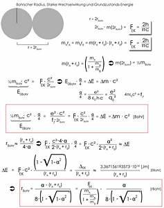 Elementarladung Berechnen : was ist der bohrsche radius ~ Themetempest.com Abrechnung