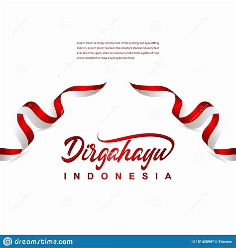 Indonesia Independence Day Celebration Creative Design ...