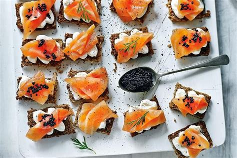berry canapes 43 best images about fish on fried scallops