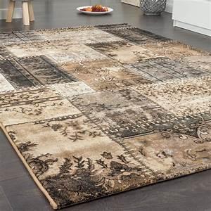 teppich karo barock teppiche vintage teppiche With balkon teppich mit barock tapete braun