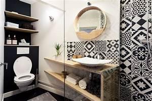 Appartement tours 32 m2 scandinaves refaits a neuf for Idee deco cuisine avec meuble salle de bain style scandinave