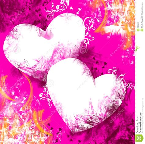 Valentine Background, Love Theme Stock Photo