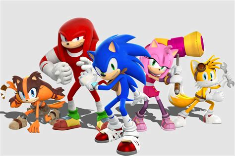 sega lets   sonic boom  gameplay screenshots art  info sonic retro