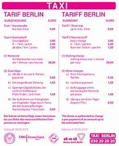 Taxi Berlin Kosten Berechnen : die neuen tarifaufkleber sind ab sofort verf gbar ~ Themetempest.com Abrechnung