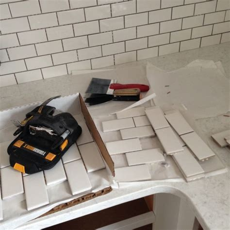 backsplash  sheets    subway tile