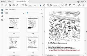 Holden Cruze Workshop Repair Manual Download