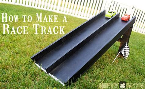 weekend diy project wood race car track diy projects