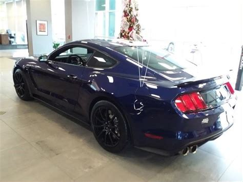 ford mustang shelby gt  miles kona blue metallic