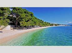 Über Tucepi, Dalmatien, Kroatien