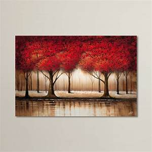 canvas painting ideas for living room home design With best brand of paint for kitchen cabinets with christmas tree wall art