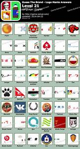 Guess The Brand Logo Mania Level 21 - Game Solver