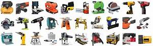 The Essential List Of The Different Types Of Power Tools