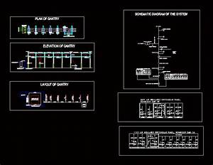 Station  U2013 15mva 3311kv Dwg Plan For Autocad  U2013 Designs Cad
