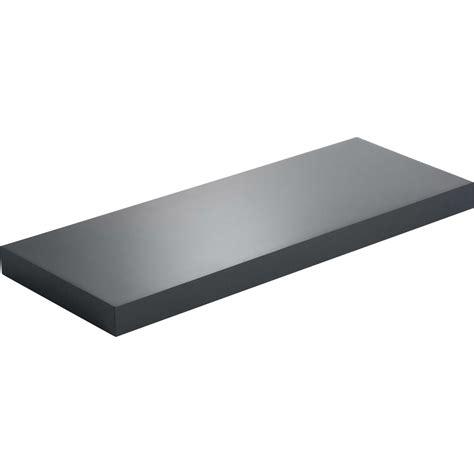 tablette murale cuisine etagère murale noir noir n 0 spaceo l 60 x p 23 5 cm ep