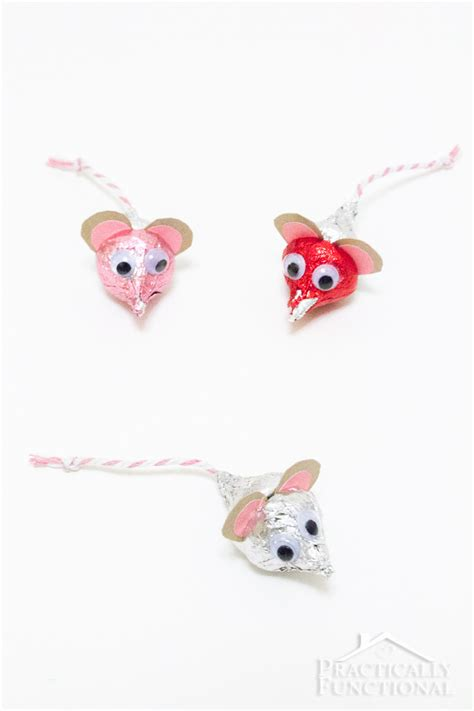 hersheys kisses mice  valentines day