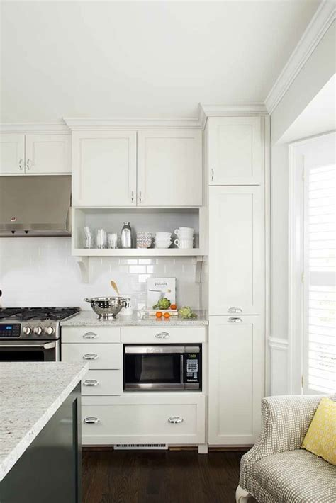 Floor To Ceiling Pull Out Pantry Cabinet Design Ideas
