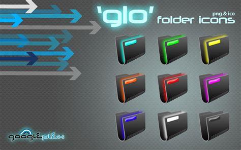 'glo' Folder Icons By Googleplex On Deviantart