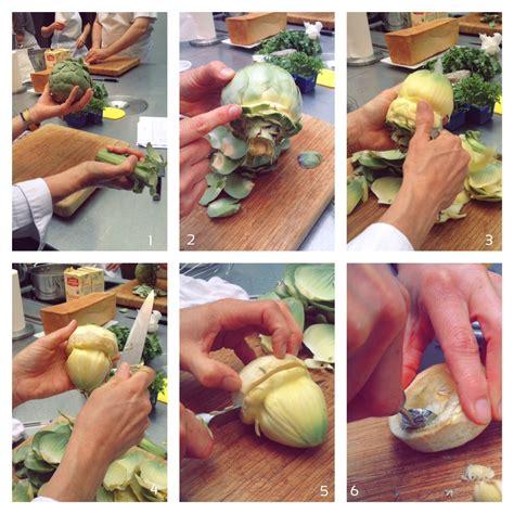 cuisine attitude cyril lignac pas à pas tourner un artichaut le de cyril lignac