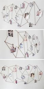 Wand Mit Fotos Dekorieren : diy ideen f r ihr zuhause die kreativit t kennt keine grenzen ~ Markanthonyermac.com Haus und Dekorationen