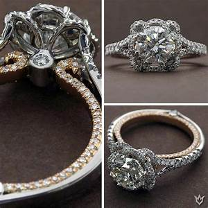 Verragio engagement ring couture 0426dr tt wedding ideas for Wedding rings by verragio