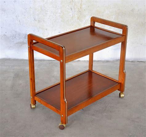 Rolling Bar by Select Modern Modern Teak Rolling Bar Or Serving Cart