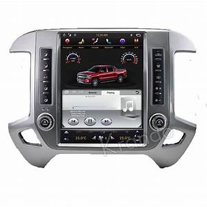 Tesla Vertical Style Android Car Radio For Chevrolet