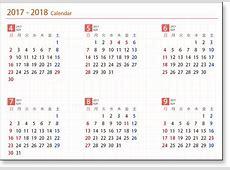 Karennda 2018 2018 Calendar printable for Free Download