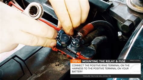 how to wire led light bar or driving lights to high beam stedi fit with harness