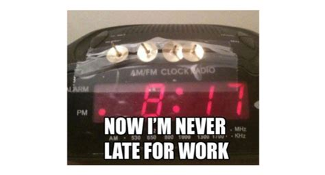 Alarm Clock Meme - alarm clock meme work humor